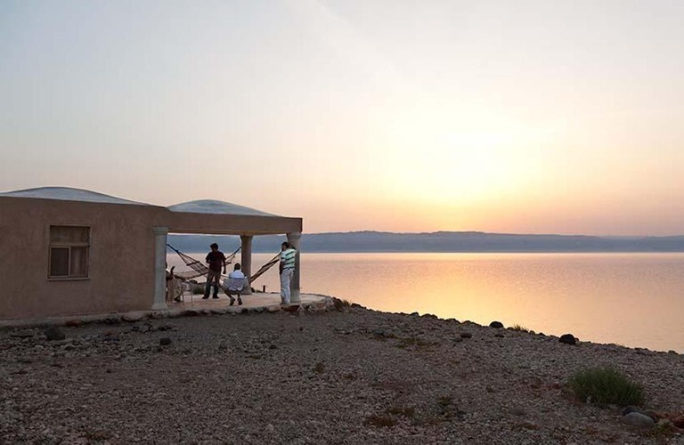 One of the Mujib Chalets overlooking the Dead Sea