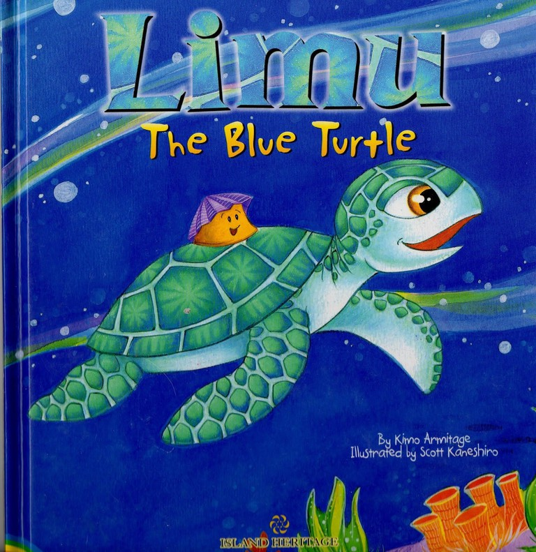 Limu, the Blue Turtle | © Island Heritage Publishing