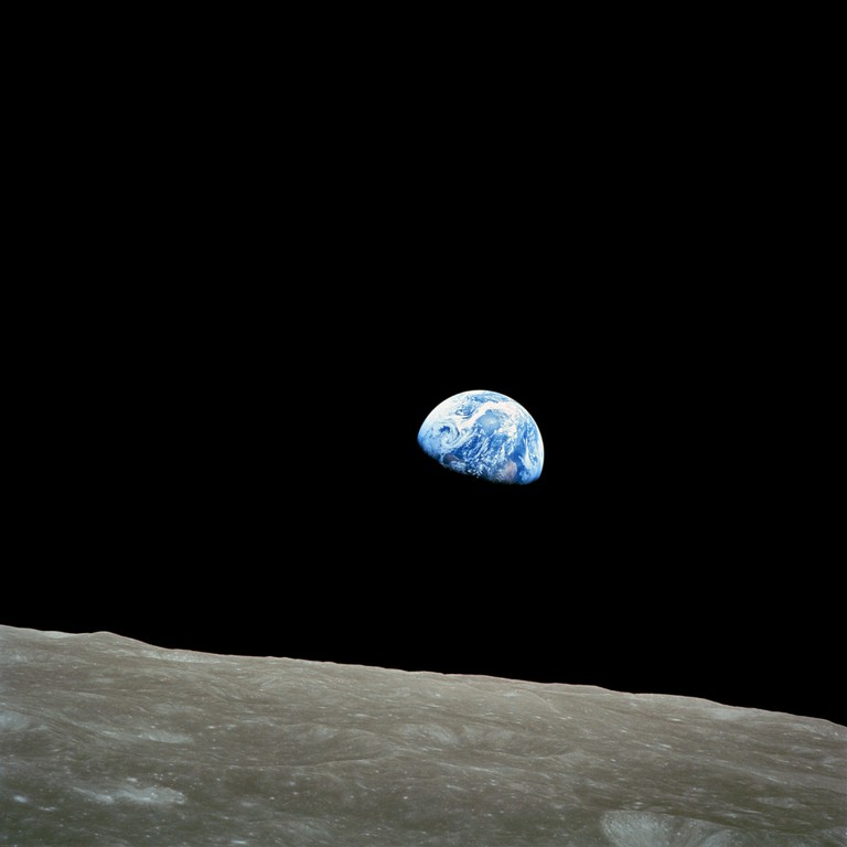 NASA's 'Earthrise' photo was also used as a cover