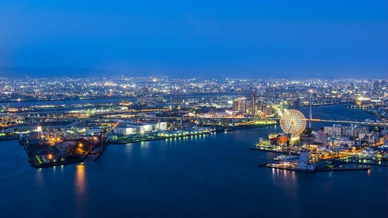 osaka-port_japan