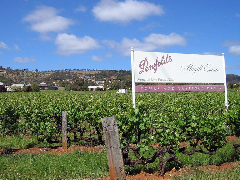 Penfolds Magill Estate in the Adelaide Hills © Shazdor / Wikimedia Commons