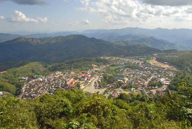Phongsali City, Laos