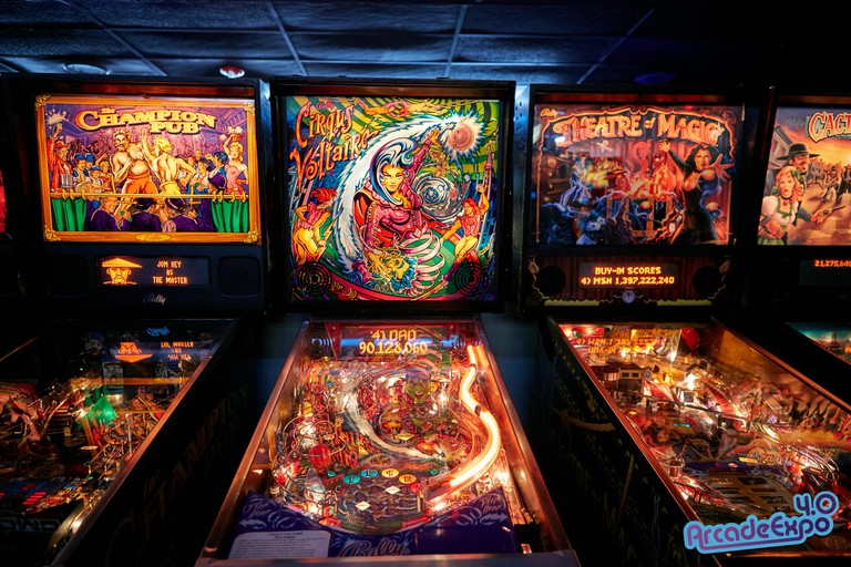 The Museum of Pinball is home to over 1,000 arcade games.