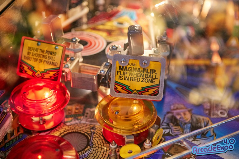 The Museum of Pinball is only open to the public a few times a year for big events.