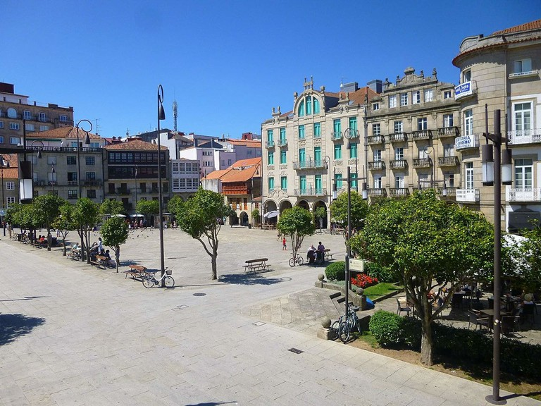 Praza da Ferrería, Pontevedra, Spain