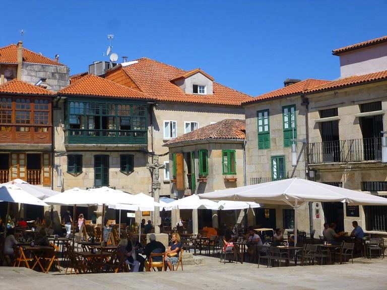 Praza da Leña, Pontevedra, Spain