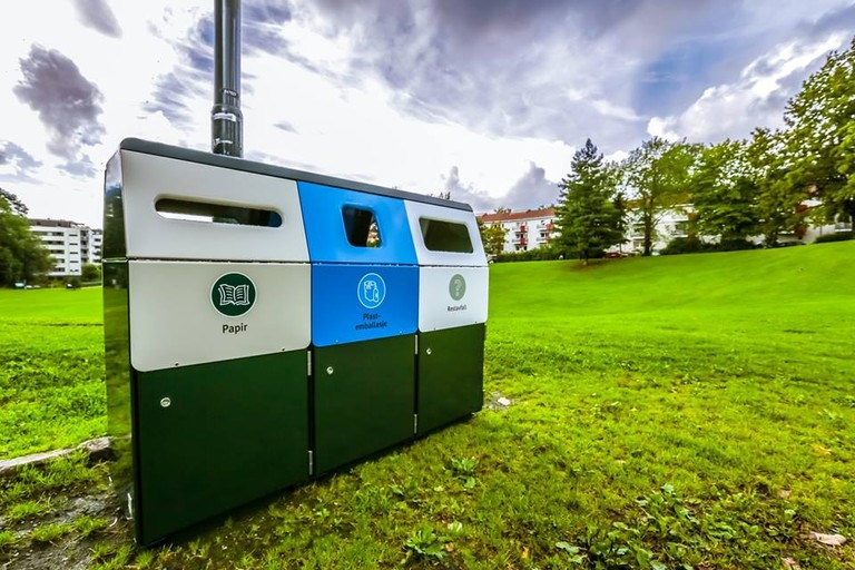 Recycling units in Norway, Courtesy of Kildesortering i Oslo