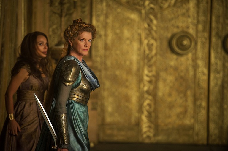 Rene Russo in Thor- The Dark World (2013) Titles- Thor- The Dark World People- Natalie Portman, Rene Russo Photo by Jay Maidment - © 2013 - Marvel Studios