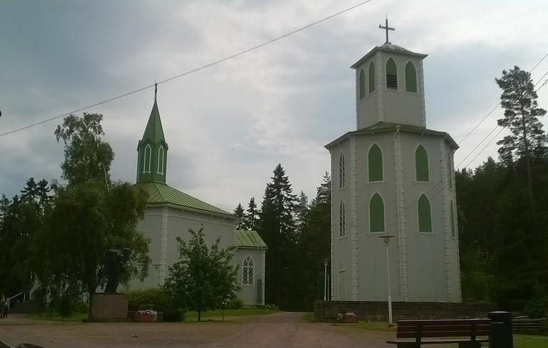 Reposaaren_kirkko