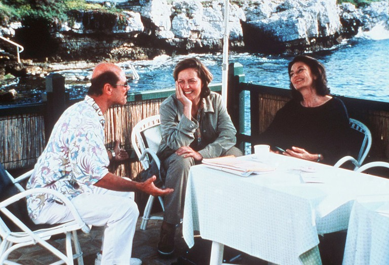 Zack Norman, Greta Scacchi and Anouk Aimée in 'Festival in Cannes'