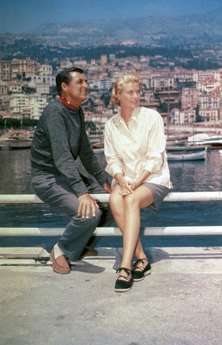 Cary Grant and Grace Kelly on location in Cannes in 1954 |© Paramount / Kobal / REX / Shutterstock
