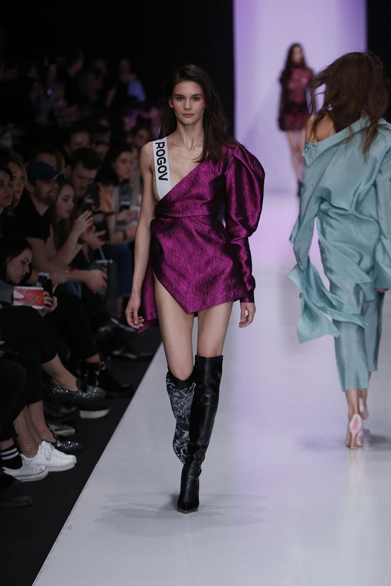 Alexandr Rogov show, Moscow Fashion Week, Russia