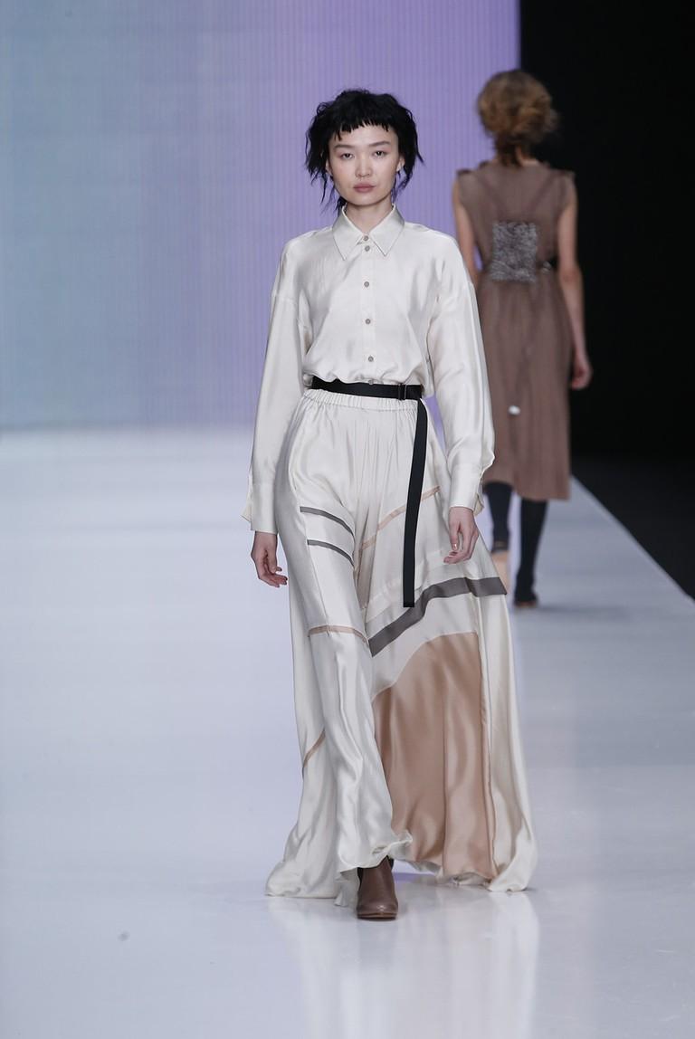 Yulia Nikolaeva Show, Moscow Fashion Week, Russia