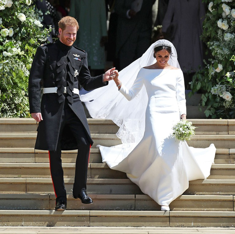 The wedding of Prince Harry and Meghan Markle at St George's Chapel