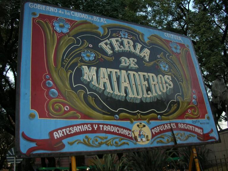 The Mataderos fair