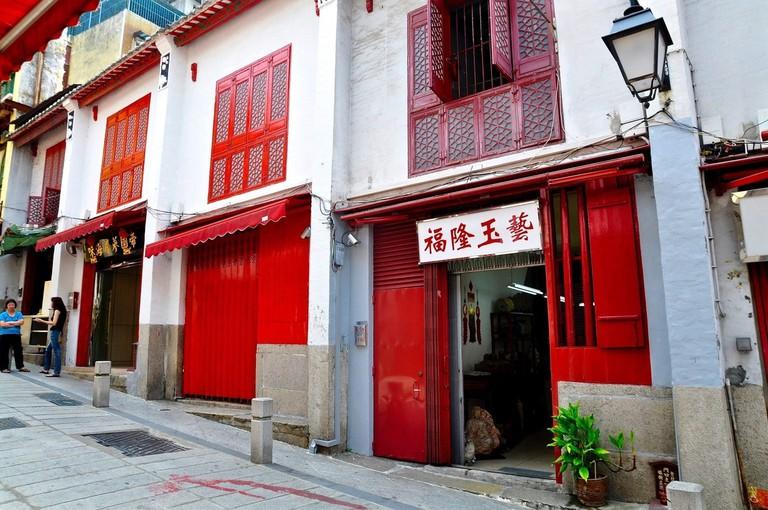Rua-Da-felicidade-Macau Happiness Street 1