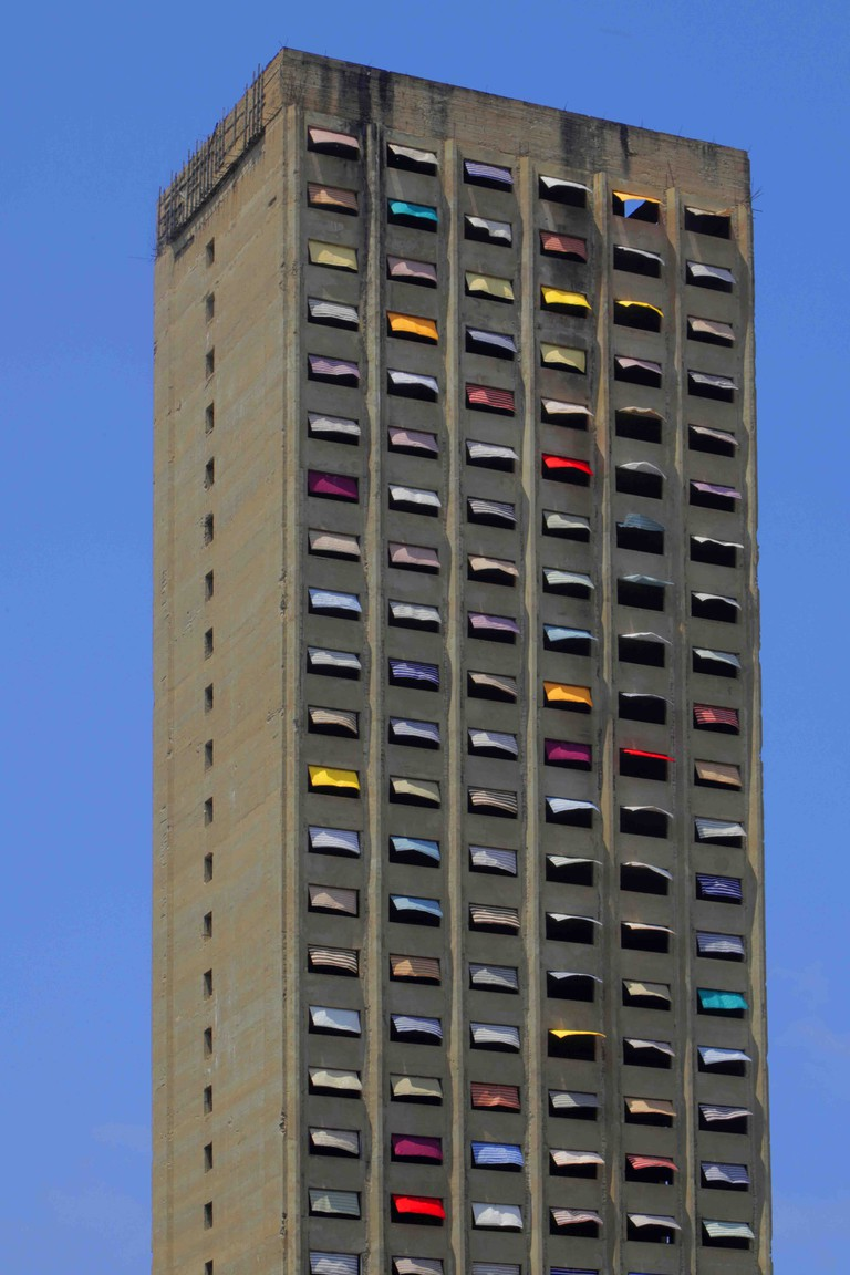 Jad El Khoury's colourful Burj El Murr installation