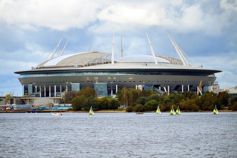Stadium on Krestovsky Island