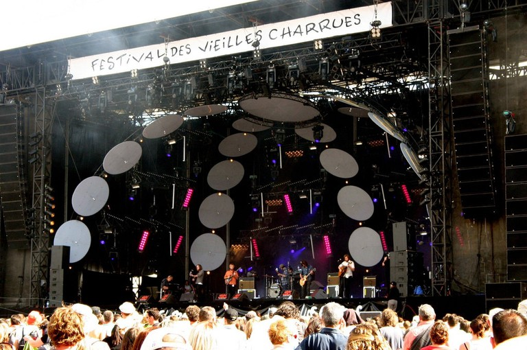 Vieilles Charrues in west of Brittany