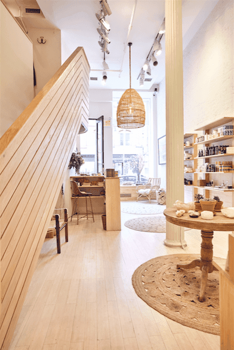 Inside ONDA's Tribeca location.