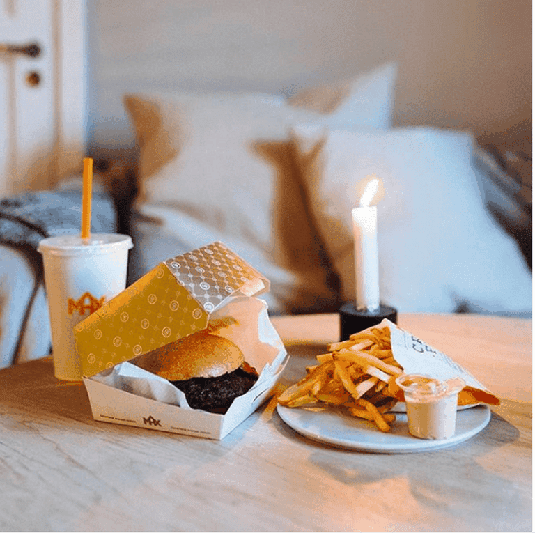 Now you can order MAX burgers at home