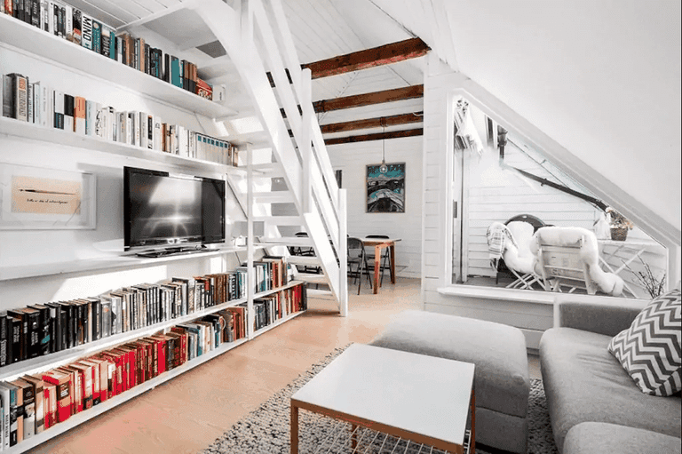 A penthouse in Bergen
