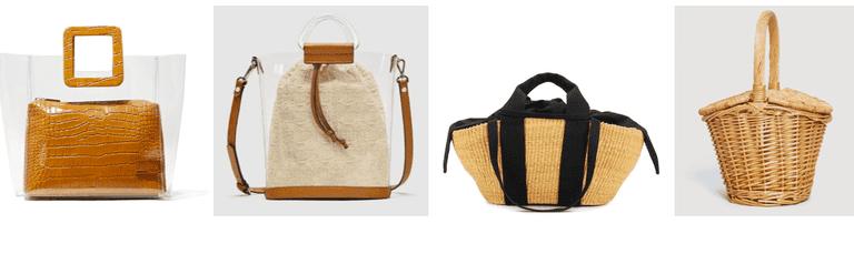 Plastic vs basket bags