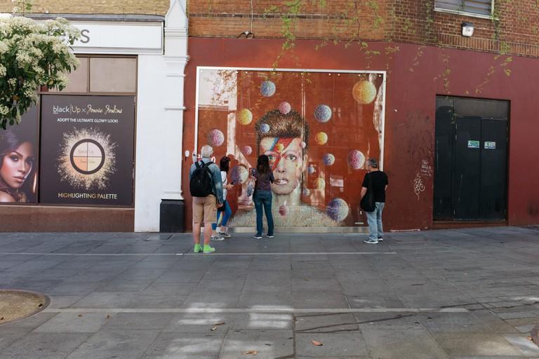 David Bowie-Brixton-London-England