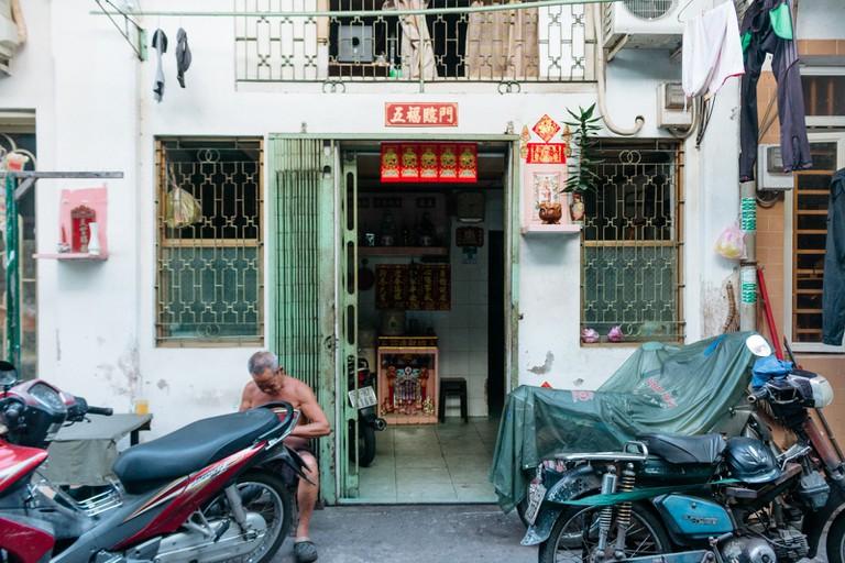 HAO SY PHUONG ALLEY-DISTRICT 5-SAIGON-VIETNAM