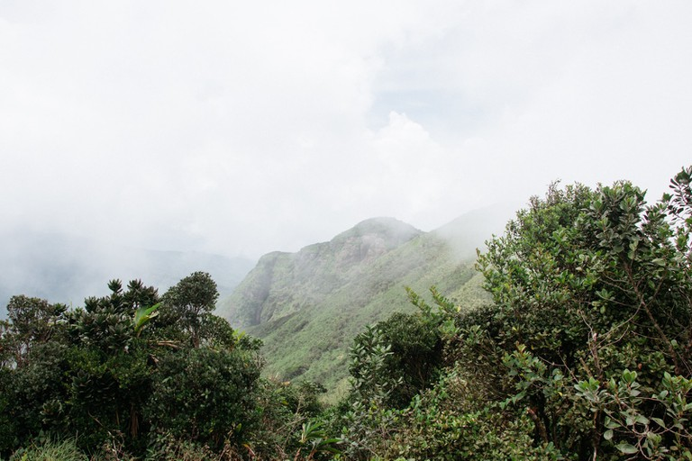 Knuckles Mountain Range-Sri Lanka