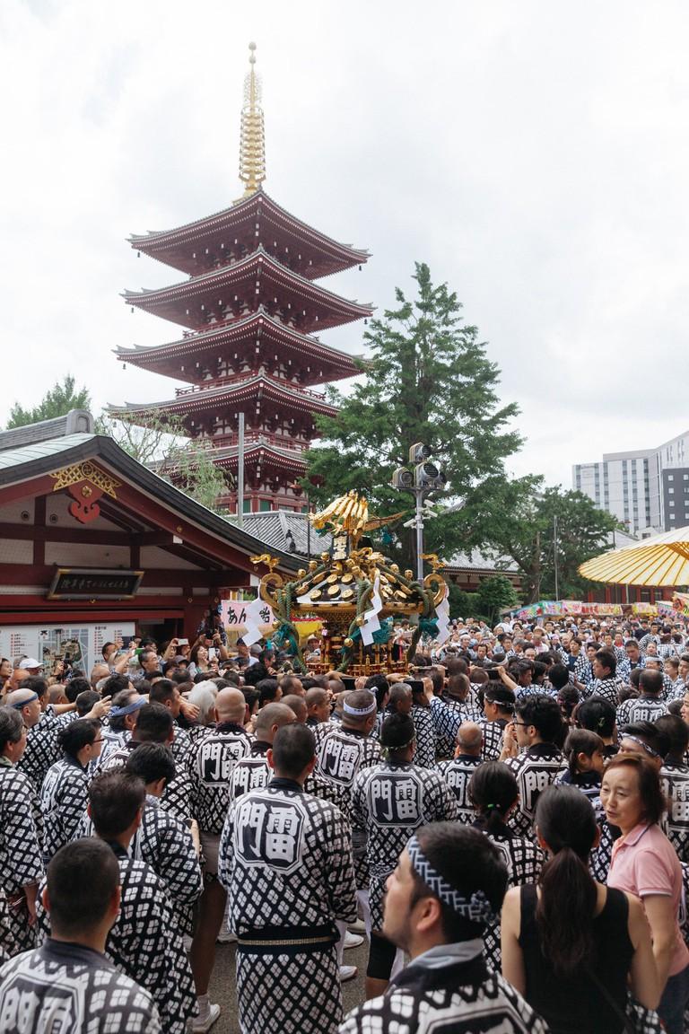 SANJA MATSURI FESTIVAL-TOKYO-JAPAN