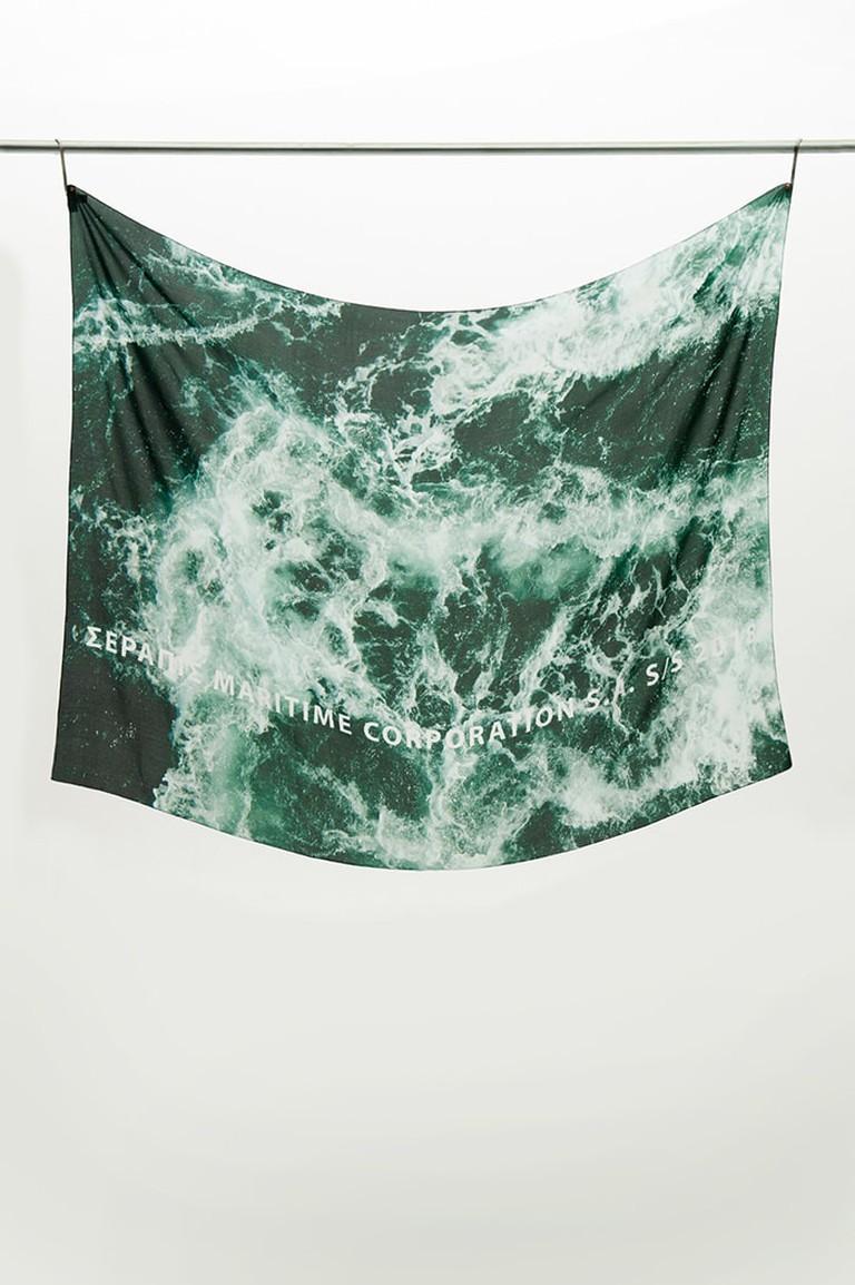 SERAPIS silk scarf