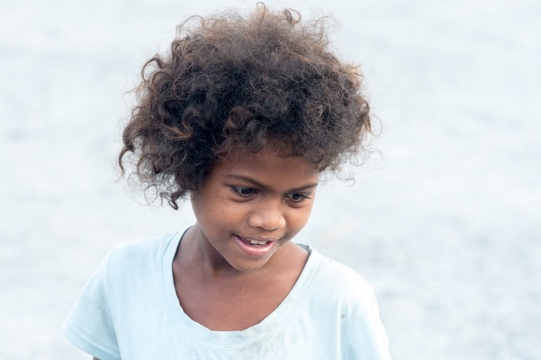 Aeta child, Capas, Philippines