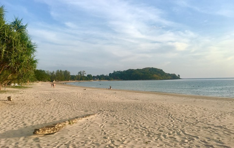 Klong Dao Beach in Koh Lanta, Thailand