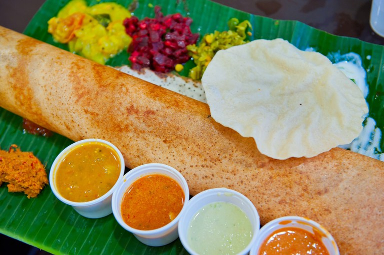 Dosa, Crispy Savoury Pancake from South India