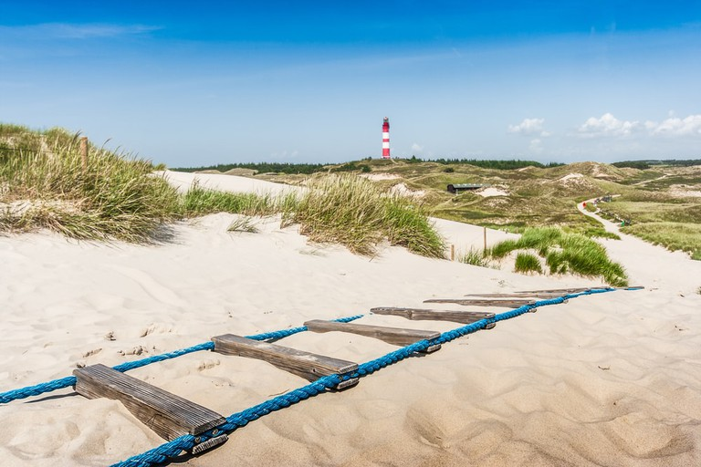 Island of Amrum at North Sea, Schleswig-Holstein, Germany