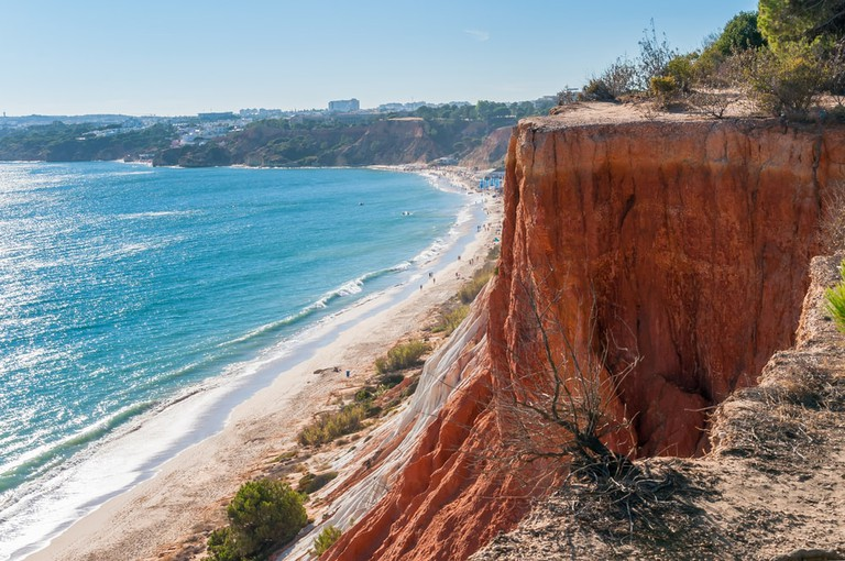 Falesia Beach, Portugal