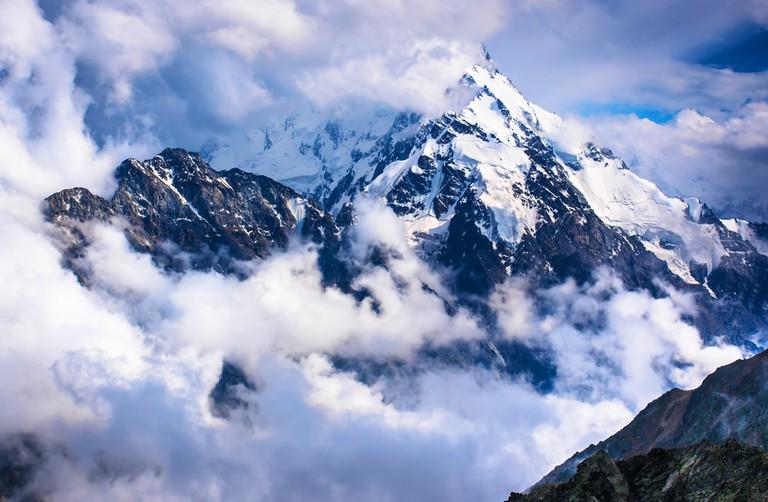 Dykh-Tau, Caucasus, Bezengi region, Kabardino-Balkaria