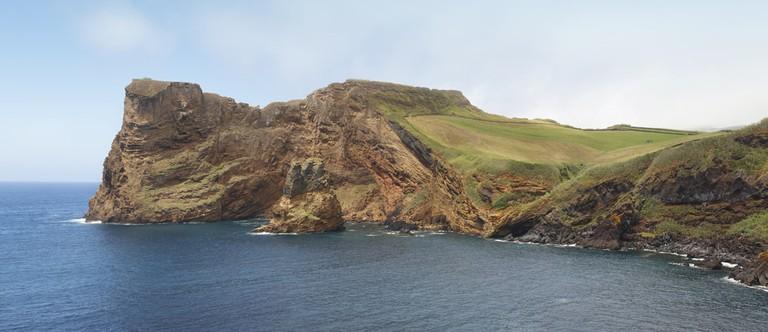 Azores coastline in Sao Jorge island