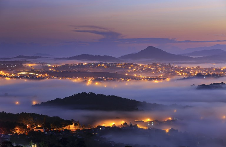 Dalat is surrounded by natural beauty