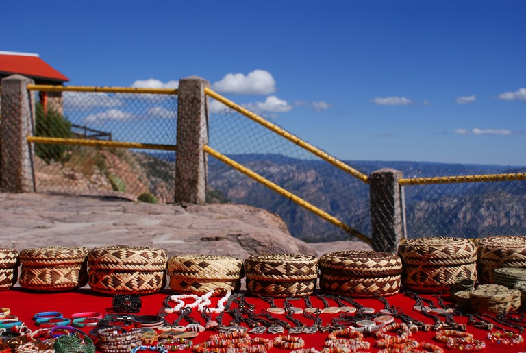 Souvenirs sold in the Copper Canyons, Mexico