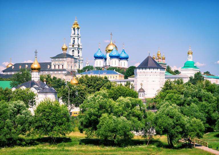 Trinity monastery in Sergiyev Posad near Moscow