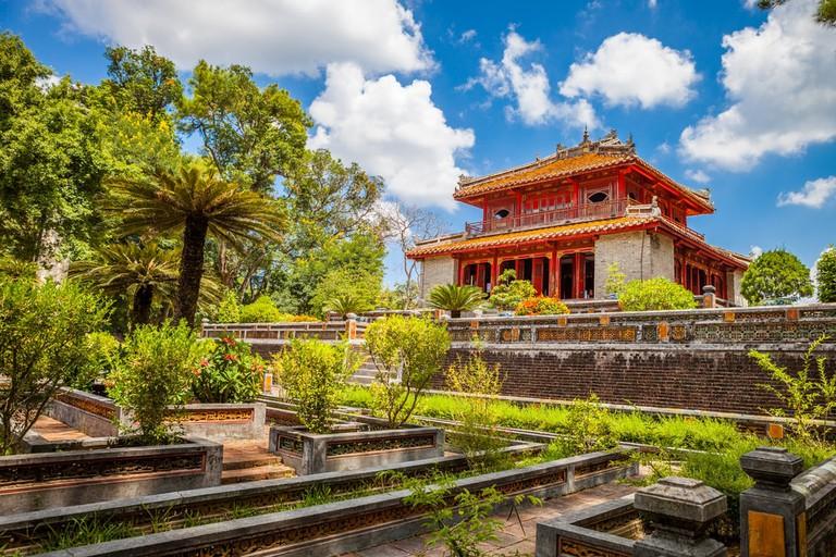 Minh Mang Emperor Tomb in Hue, Vietnam