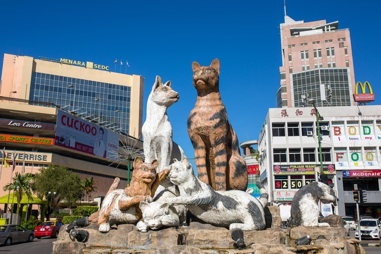 cat monument kuching