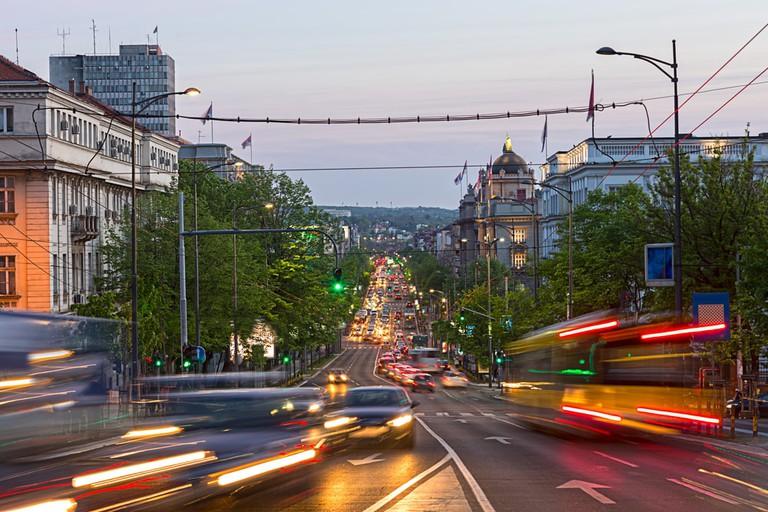 Kneza Milosa in Belgrade, Serbia