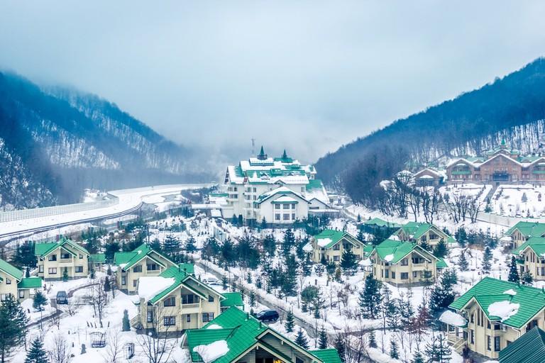Krasnaya Polyana, Sochi, Russia