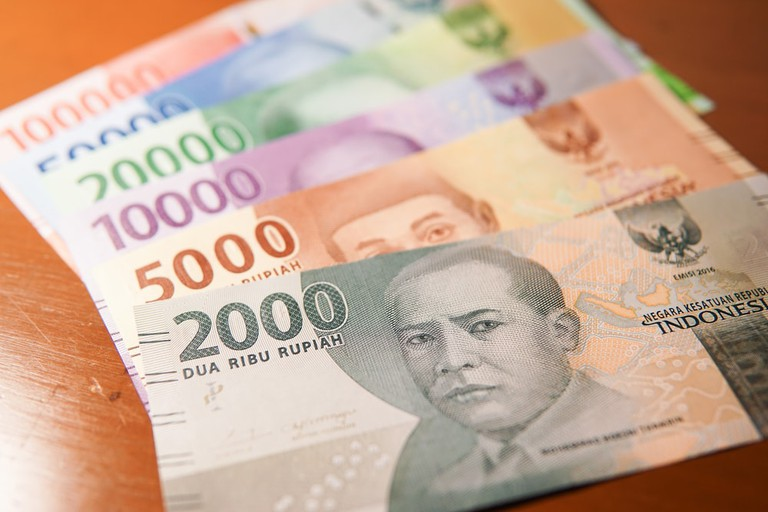 New Indonesian rupiah money