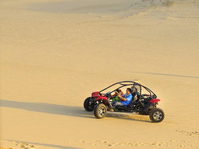 Dune Buggy in Mui Dinh, Vietnam