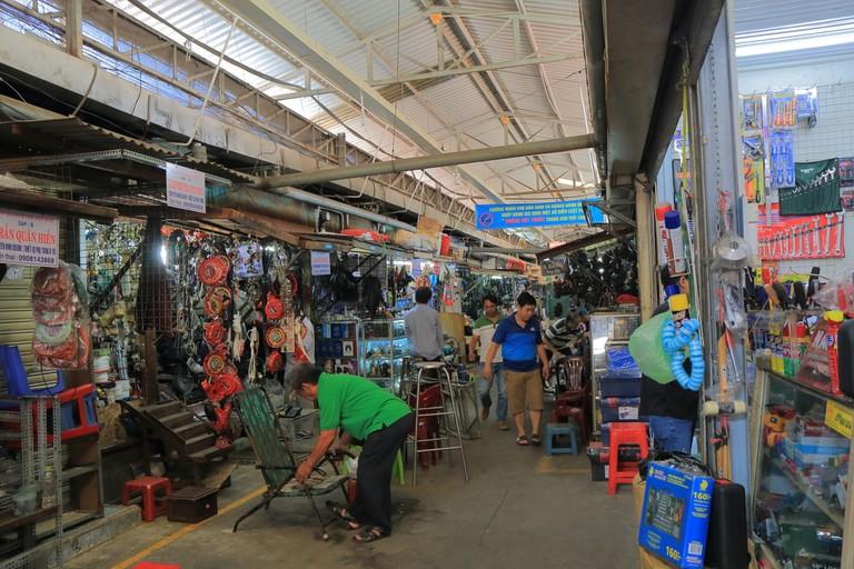 Dan Sinh market, Ho Chi Minh, Vietnam