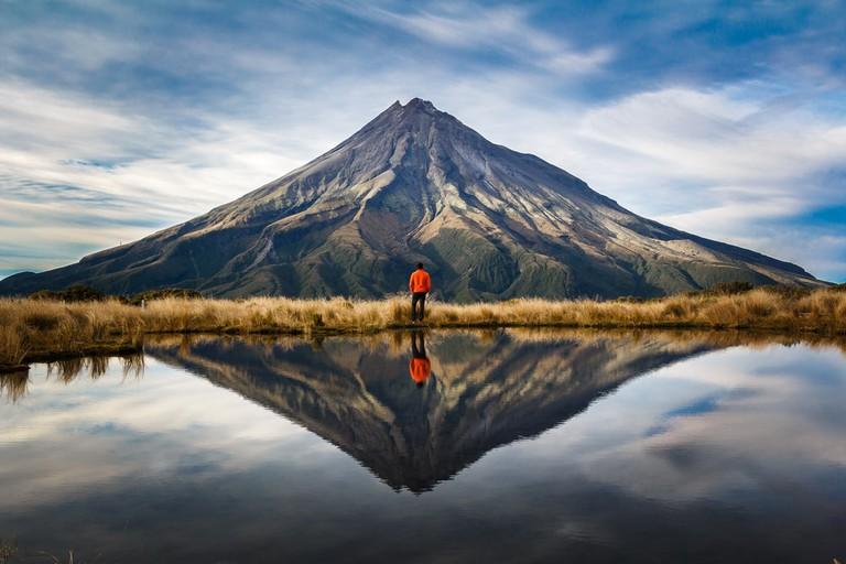 Taranaki volcano, New Zealand